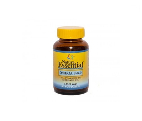 Nature Essential Omega 3-6-9 1000mg 30 perlas