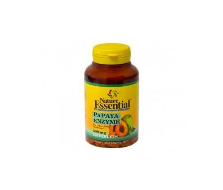 Nature Essential Papaya Enzyma 500mg 250 tabletas