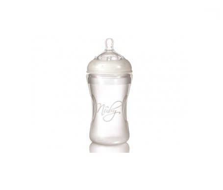 Nuby Natural Nurser Step 1 biberón silicona 300ml