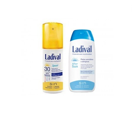 Ladival® pieles sensibles oil free SPF30+ spray 150ml+ AFTERSUN 200ml