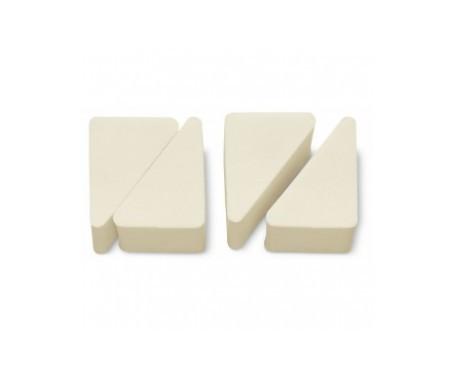 3 Claveles esponjas maquillaje partibles 4uds