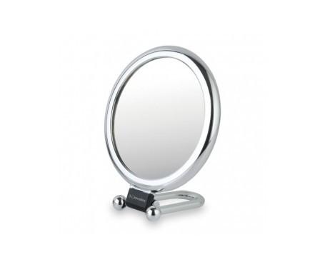 3 oeillets miroir avec base pliante 1x7 grossissement diamètre 15cm