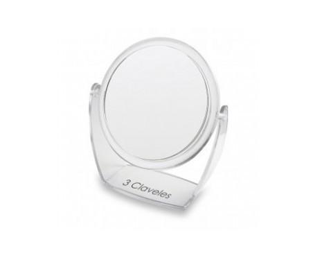 3 Garofani a specchio con base girevole 360å