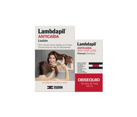 Lambdapil perdita di capelli lozione 3mlx20 dose singola + GIFT shampoo 100ml