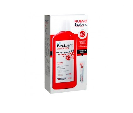 Bexident® colutorio anticaries 500ml + pasta dentífrica 8ml