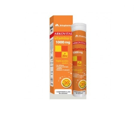 Arkovital vitamina C 1000mg 20comp