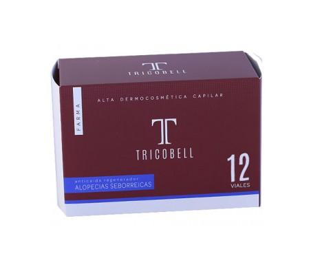 Tricobell Farma ampollas anticaida seborréica 12uds