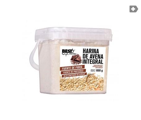 Best Protein carbohidratos harina de avena sabor chocolate 1900g