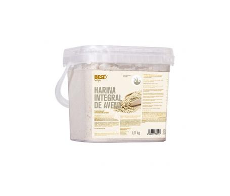 Best Protein carbohidratos harina de avena puro 1900g
