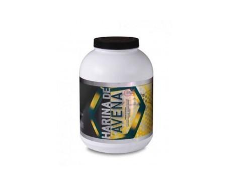 Best Protein carbohidratos harina de avena sabor vainilla 1900g