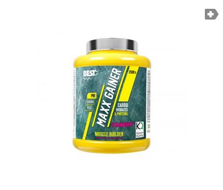 Best Protein Maxx Gainer 40% proteína fresa 1,5kg