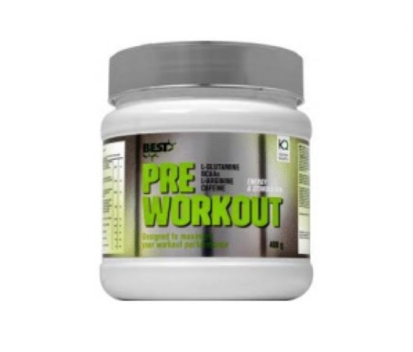Best Protein Pre Workout limón 400g