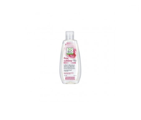 So´Bio Étic Rose Sublime loción desmaquillante 250ml