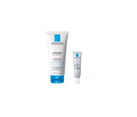 La Roche-Posay Redermic C piel seca 40ml + Lipikar gel de ducha fisiológico 200ml