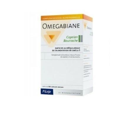 Omegabiane Capelan / Bourrache 100comp