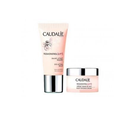 Caudalie Resveratrol Lift ojos 15ml + crema deliciosa 15ml