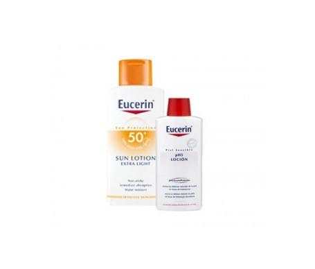 Eucerin® Sun locion SPF50+ 400ml + loción 200ml