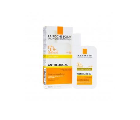 La Roche-Posay Anthelios SPF50+ fluido ultra ligero rostro 50ml