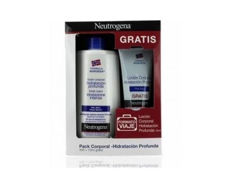 Neutrogena® loción corporal piel seca 400ml+75ml