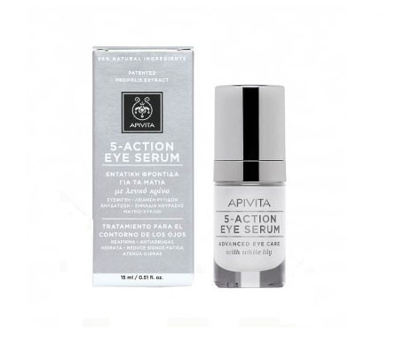 Apivita 5-Action Eye sérum contorno ojos 15ml