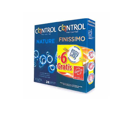 Pack Control Nature 24uds + Control Nature Finissimo Easy Way 6uds
