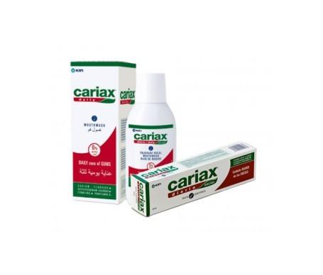 Cariax Diario colutorio gingival 500ml + pasta dentífrica 125ml