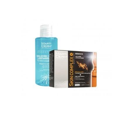 Martiderm® Skin Complex Black Diamond 10amp + solución micelar 75ml