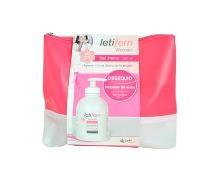 Letifem gel higiene óntima adultos 500ml + neceser