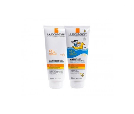 La Roche-Posay Anthelios SPF50+ leche 300ml + Dermo-Pediatrics SPF50+ leche 300ml