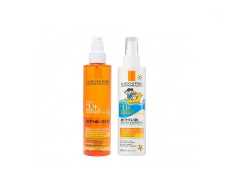 La Roche-Posay Anthelios XL SPF50+ spray 50ml + Dermo-Pediatrics spray 200ml