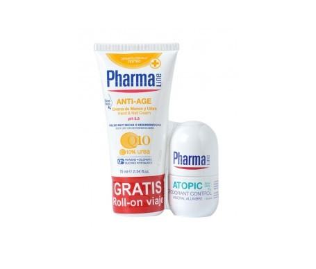 Pharmaline crema de manos anti-age 75ml + desodorante 25ml