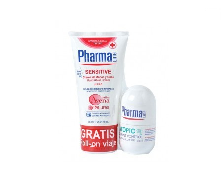 Pharmaline Sensitive crema de manos 75ml + desodorante 25ml