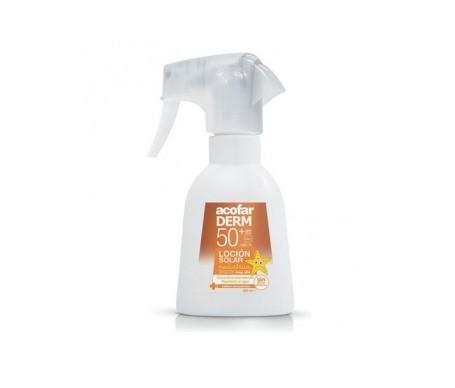 Acofarderm spray solar pediátrico SPF50+ 200ml