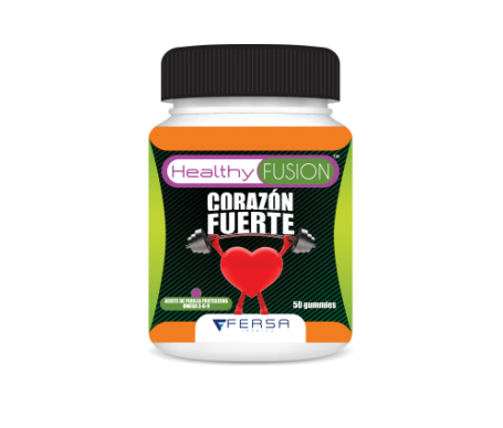 Healthyfusion corazón fuerte 50 comprimidos de gelatina