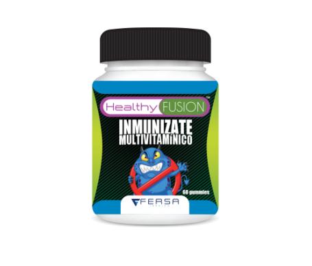 Healthyfusion immunizes 60 gelatin tablets