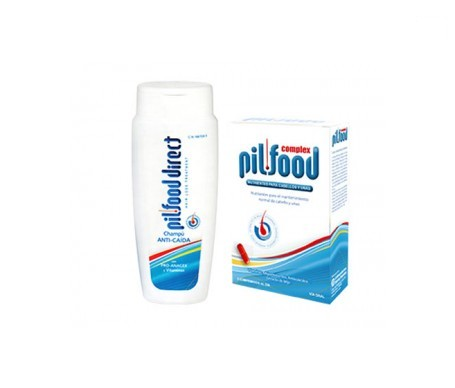 PilFood Complex 60cáps + Direct champú anticaída 200ml