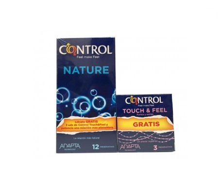 Pack Control Nature 12uds + Touch&Feel 3uds