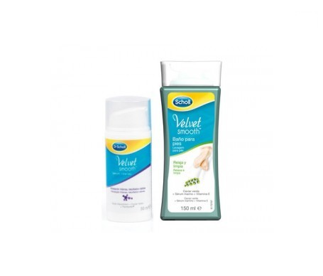 Scholl Velvet Smooth sérum intenso 30ml + baño pies 150ml