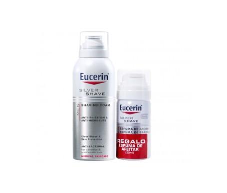 Eucerin® Men espuma de afeitar 150ml + tamaño viaje 30ml