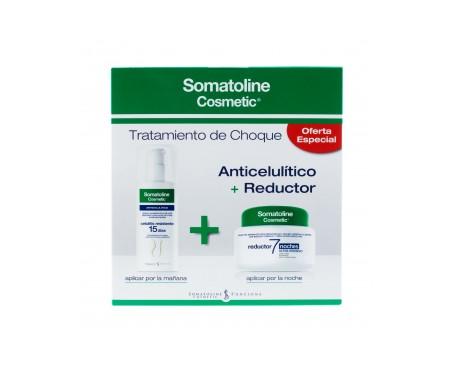 Somatoline® Pack Reductor Intensivo 7 noches 450ml + Celulitis Resistente 150ml