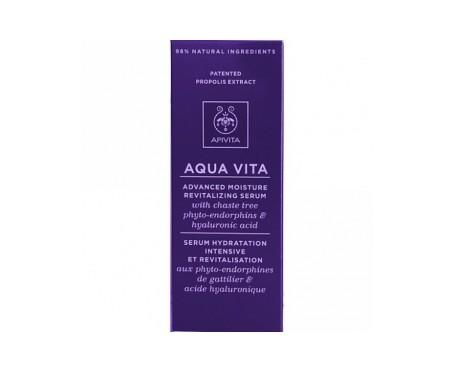 Apivita aqua vita sérum hidratante 30ml
