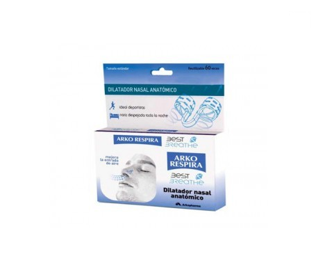 Arkorespira dilatador nasal anatómico 1ud