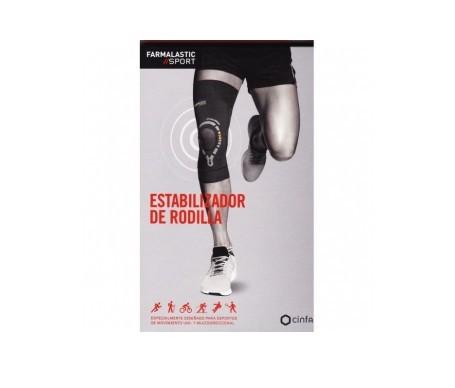 Farmalastic Sport estabilizador rodilla T- XS 1ud