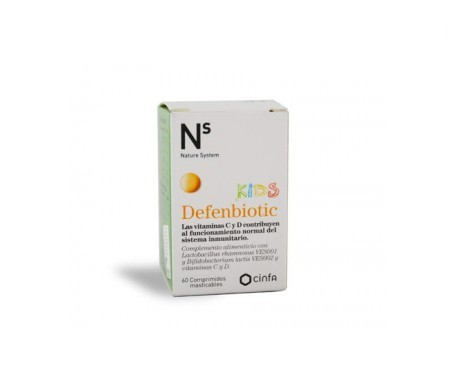 Ns Defenbiotic Kids 60comp