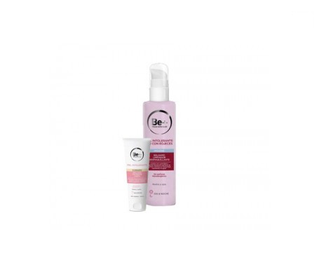 Be+ Intolerant skin pack p/normal-mixed 50ml+make-up remover 200ml