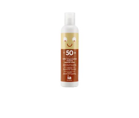 Interapothek leche fotoprotectora SPF50+ especial niños 200ml