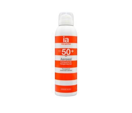 Interapothek aerosol transparente SPF50+ 200ml