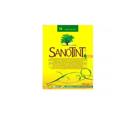 Santiveri Sanotint Light Tint nº79 rubio natural 125ml