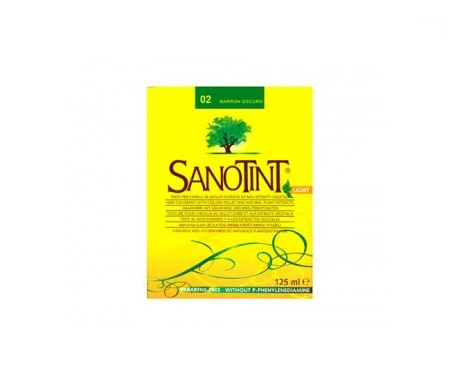 Santiveri Sanotint nº02 color marrón oscuro 125ml