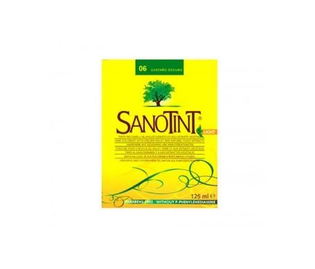 Santiveri Sanotint nº06 color castaño oscuro 125ml